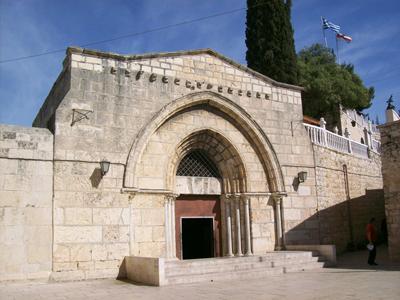 mary's tomb-entrance
